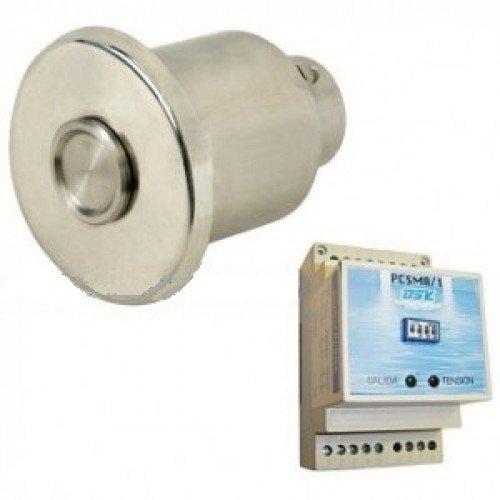 Пневмо-кнопка сенсорная с нишей под плитку с реле Flexinox