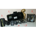Противоток Pahlen JET-SWIM 1200 универсал. 54 м3/ч 380В 2.2 кВт комплект