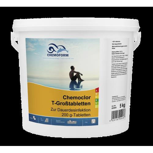 Кемохлор T-Таблетки 200г, 5 кг. медленно растворимые