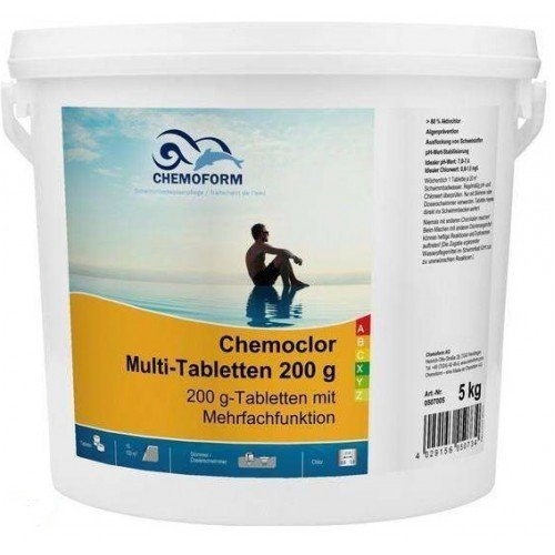 Мультитаблетки 3 в 1 200 гр. Chemoform 5 кг.