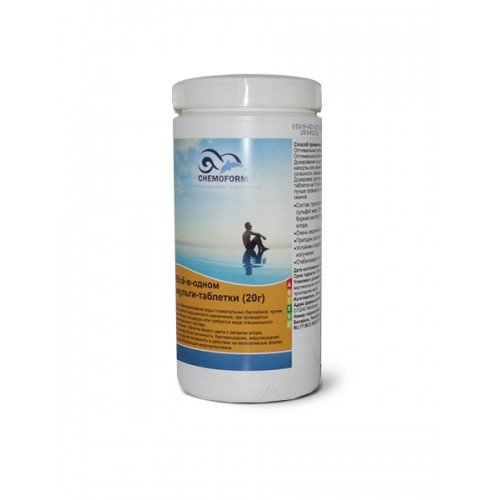 Мультитаблетки 3 в 1  20 гр. Chemoform 1 кг.