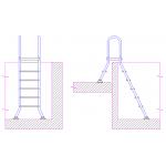 Лестница двухсторонняя 1+5 ст.