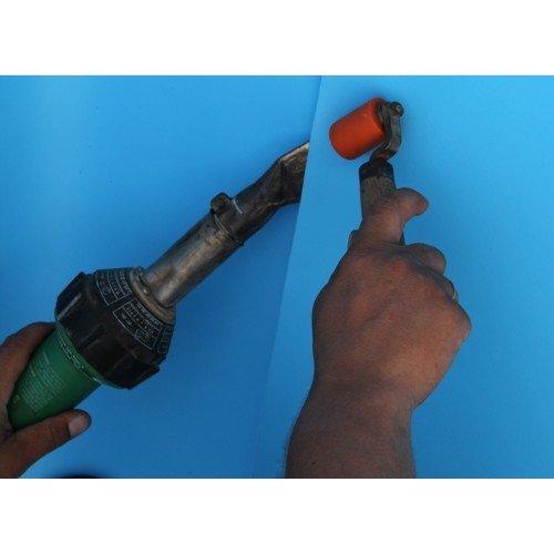 Монтаж пленочного покрытия ПВХ для бассейна