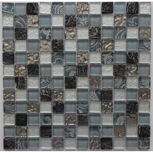 Стеклянная мозаика LUX-2S  Jenru