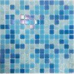 Стеклянная мозаика Blue Lux WILDER