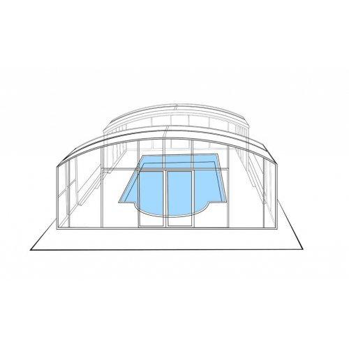 Павильон для бассейна Аврора 4,0 метра