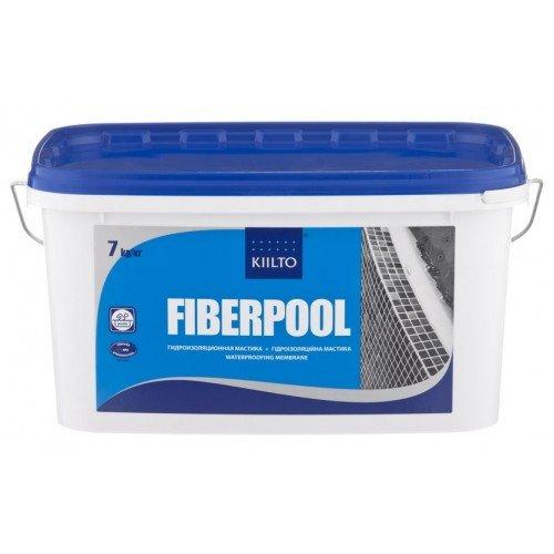 Гидроизоляция KIILTO FIBERPOOL 1.3 кг.