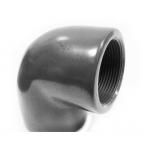 Угольник с внутренней резьбой ПВХ D50х1 1/2х90